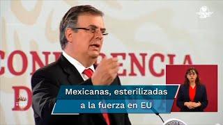 """El pasado 17 de septiembre, la Secretaría de Relaciones Exteriores informó que los consulados mexicanos en Atlanta y El Paso investigan """"una serie de histerectomías no autorizadas en mujeres hispanohablantes"""" en centros de detención migratoria"""