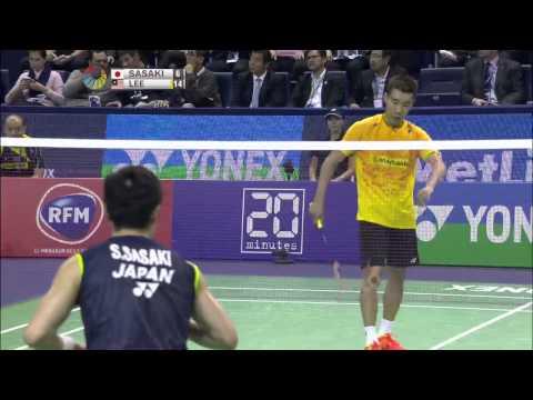 Yonex All England Open 2016   Badminton R16 M2-MS   Lin Dan vs Sho Sasaki from YouTube · Duration:  1 hour 12 minutes 29 seconds