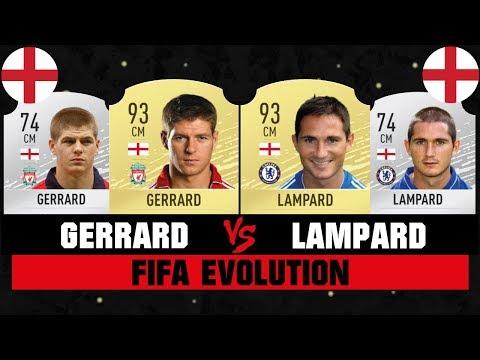 GERRARD VS LAMPARD FIFA EVOLUTION 😱🔥| FIFA 07 - FIFA 20