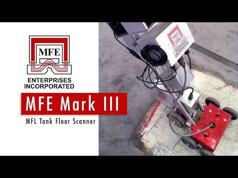 MFL Tank Floor Scanner - MFE Enterprises Mark III