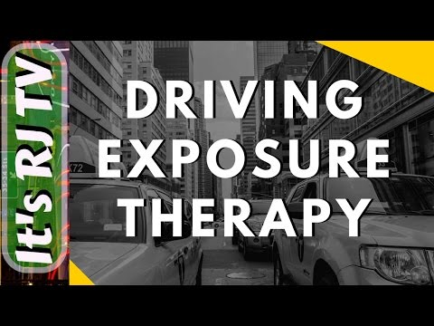 Anxiety Driving exposure therapy video