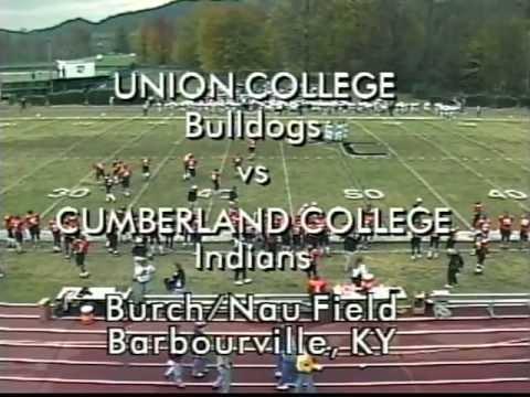 Cumberland Classic - Cumberland College vs. Union College Football - 1st Half 1997