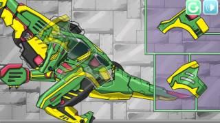 Мультик игра Робот динозавр Теризинозавр (Therizinosaurus Dino Robot)