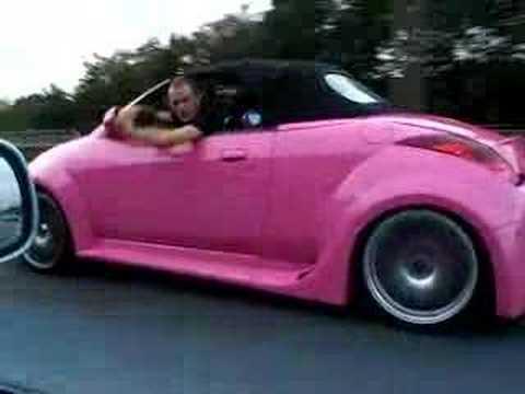 Pink Ka With Paddle Power