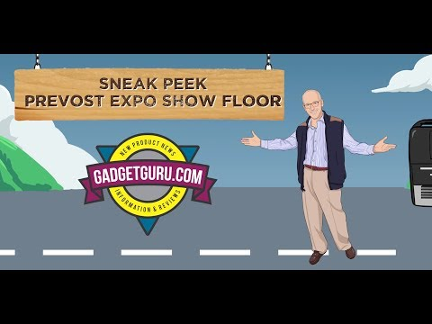 Sneak Peek At Setting Up The Prevost Expo