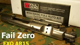 FAIL ZERO EXO AR15 / M4 Bolt Carrier Group