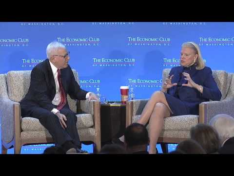 Ginni Rometty, Chairman, President and CEO, IBM