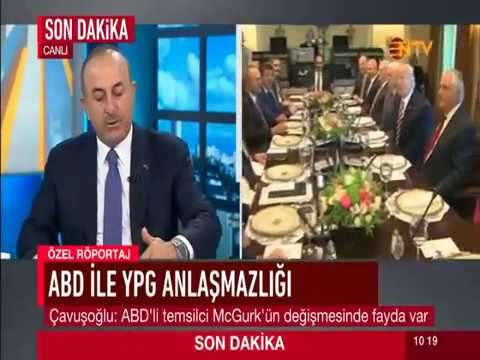 Dışişleri Bakanı Sayın Mevlüt Çavuşoğlu'nun NTV Kanalına verdiği mülakat, 18 Mayıs 2017