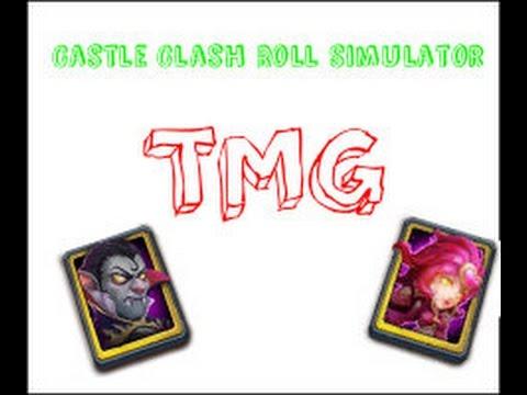 Castle Clash Roll Simulator-TMG