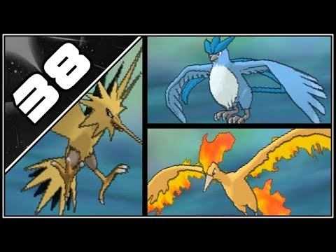 Pokemon Ultra Sun and Moon Part 38 - Catching Zapdos, Articuno, Moltres