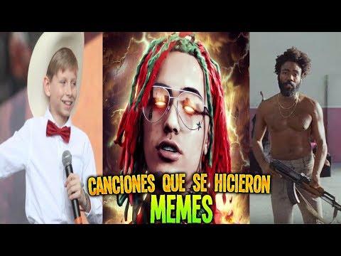 TODAS las CANCIONES que se HICIERON MEMES y VIDEOS RANDOM (¡¡ACTUALIZADO!!) 🎤🎧🎼