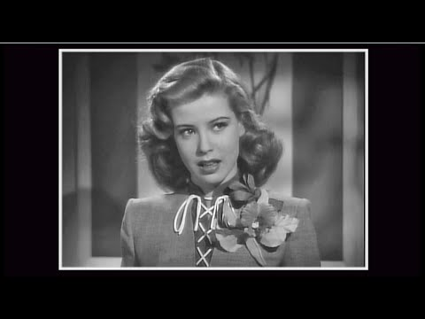 Gloria DeHaven  My Mother Told Me  TWO GIRLS AND SAILOR&x30001944;