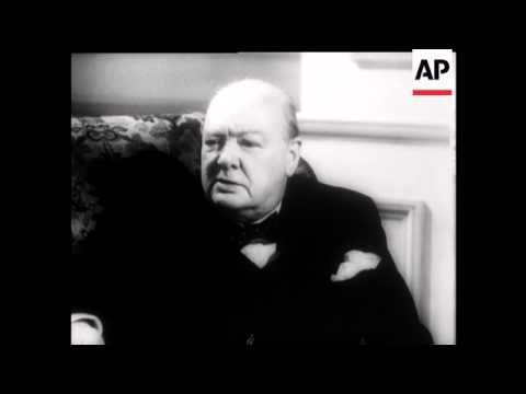 MR WINSTON CHURCHILL - AN INTERVIEW