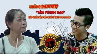 """Hoàng Rapper """"tầm sư học đạo"""" bà chủ nổi tiếng đọc rap tính tiền"""