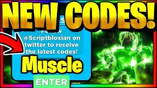 ALL *NEW* SECRET OP WORKING CODES! Roblox Muscle Legends
