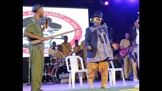 Download Video Baba Sala son make people laugh as He dress up like his Dad to act drama at his mega tribute concert MP3 3GP MP4
