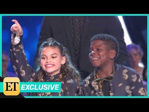 DWTS: Juniors: Val Chmerkovskiy Offers Ariana Greenblatt His Rolex After Fab Dance (Exclusive)