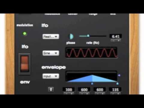 DTM Review:Motu Digital performer multimode-filter sample