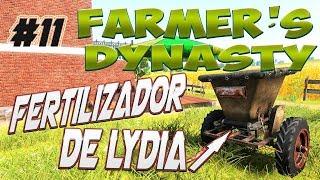 FARMERS DYNASTY | #11 | EL FERTILIZADOR DE LYDIA  | GAMEPLAY ESPAÑOL