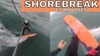 SHOREBREAK et VAGUES/MOUSSES _ Comment les passer facile _ GoPro Kitesurf Vlog _ LAB TV ⭐
