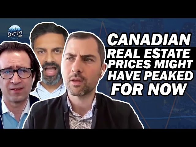Canadian Real Estate Prices Might Have Peaked For Now