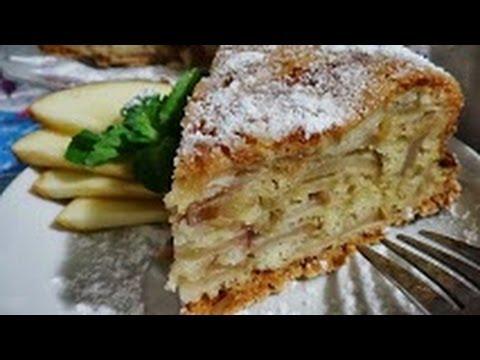 ♥яблочный пирог/очень легкий