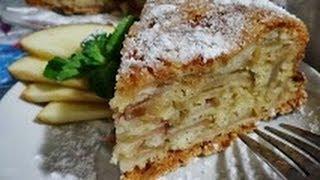♥яблочный пирог/очень легкий рецепт/