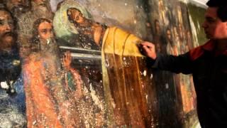 Александр Невский на росписи храма.MOV(, 2012-11-28T21:37:17.000Z)