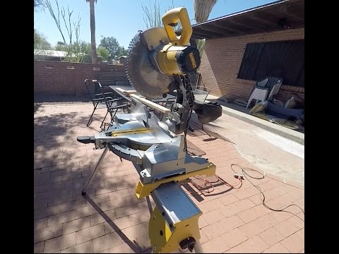 "(IS IT WORTH IT?) DeWALT DW715 12"" SINGLE BEVEL MITER SAW/STAND REVIEW AND TEST"