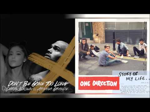 Story of My Long Life | One Direction & Chris Brown feat. Ariana Grande Mashup!