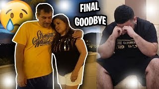 SAYING GOODBYE TO OUR FRIEND!!(emotional)