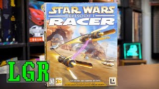 LGR - Star Wars Episode I Racer - PC Game Review
