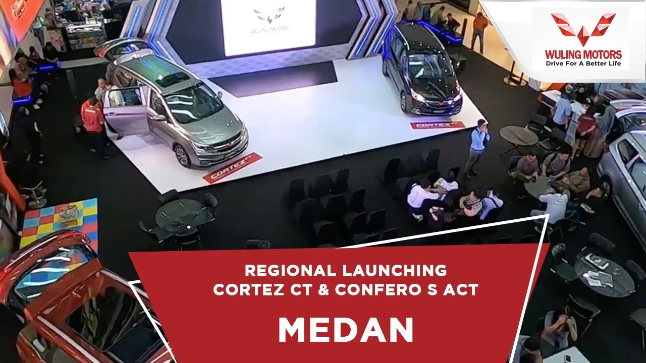 Car Dealerships In Ct >> Regional Launching Wuling Cortez Ct Confero S Act Medan