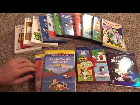 My Peanuts Charlie Brown VHS, DVD, and Blu-Ray Collection - Linus Lucy Snoopy
