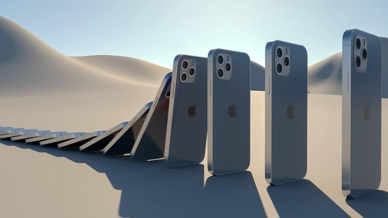 iPhone 12 pro max vs Samsung s21 ultra [Domino effect]