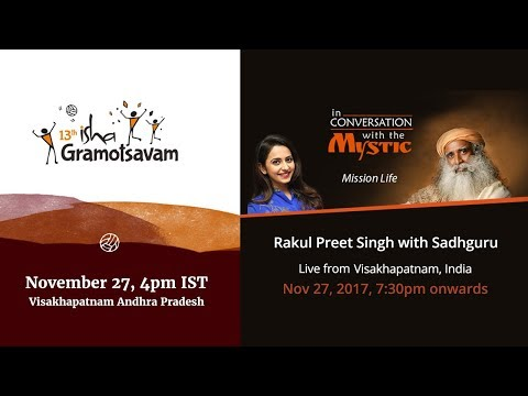 Isha Gramotsavam - Live from Visakhapatnam, India - Nov 27 - 4pm IST.