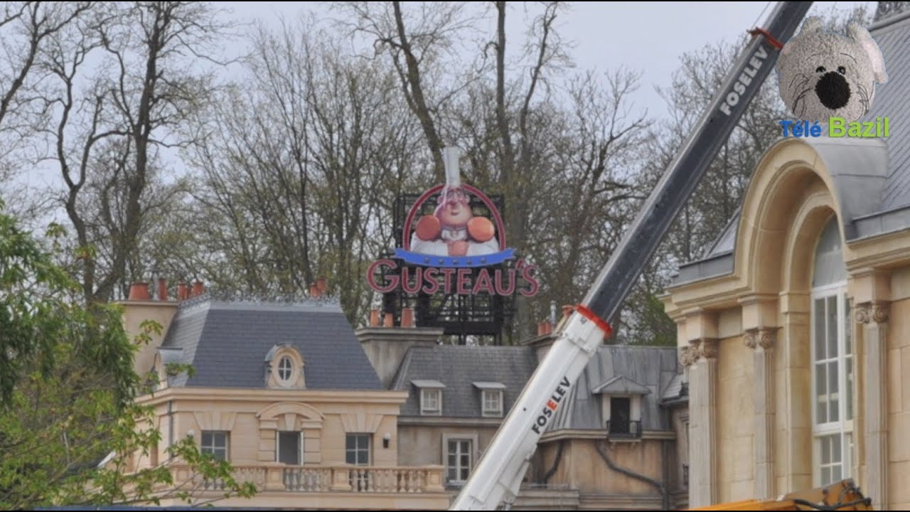ratatouille building site at disneyland paris youtube. Black Bedroom Furniture Sets. Home Design Ideas