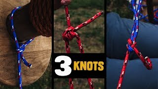 3 Essential Knots Everyone Should Know