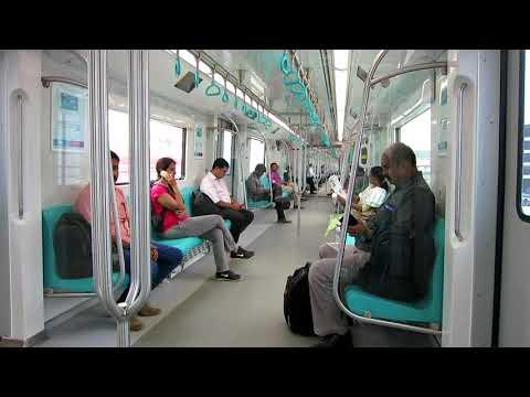 Riding the Kochi Metro - Kochi, India