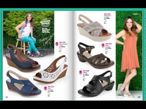 45372b64 catalogo de zapatos Mundo Terra 2016 confort primavera verano - YouTube