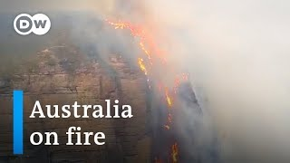 (NSW, SYDNEY 28 December 2019) Australia's fires blaze out of control near Sydney | DW News