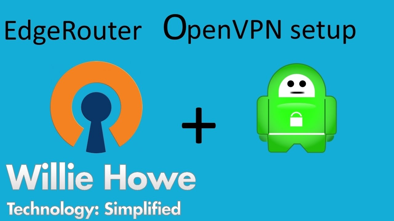 EdgeRouter OpenVPN to Private Internet Access!