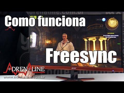 """O que é """"tearing""""? Como funciona o FreeSync da AMD? Respondemos neste vídeo!"""