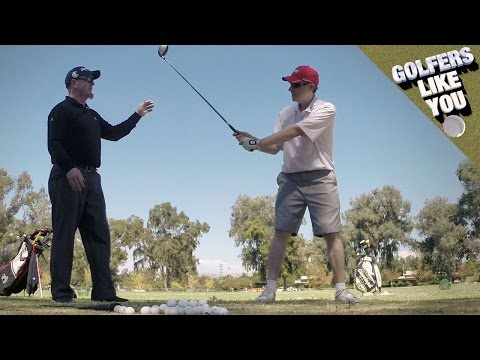 Golfers Like You: Fix Pushes and Hooks by Focusing on Backswing