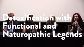 Interactive Panel: Detoxification with Functional and Naturopathic legends.