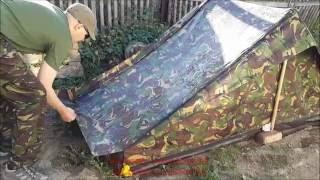 Испытание палатки армии Нидерландов  на водостойкость(Испытание палатки армии Нидерландов на водостойкость. Армейский контрактный оригинал. Интернет-магазин..., 2016-05-30T00:09:21.000Z)