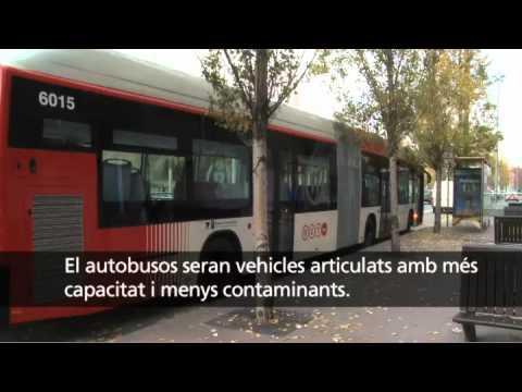 El Retbus un nou model de transport públic de TMB a Barcelona