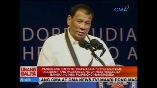 UB: Pangulong Duterte, tinawag na 'little maritime accident' ang pagbangga ng Chinese vessel...