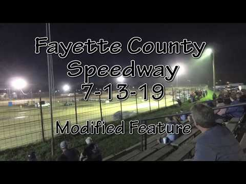 Fayette County Speedway  Modified Feature