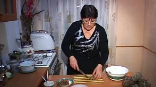 Салат с печенью гриб Вешенка
